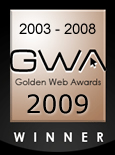 Golden Web Awards Winner 5 years in a row
